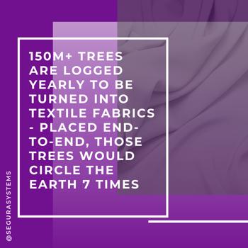 viscose trees textiles