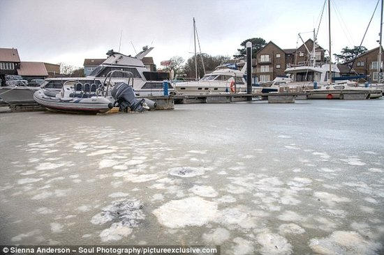 Frozen Sea (Daily Mail)